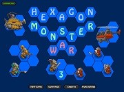 Игра Hexagon Monster War 3