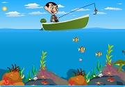 Mr. Bean Fishing