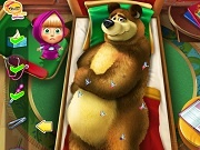 Играть Masha and the Bear injured