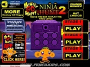 Играть Monkey GO Happy Ninja Hunt 2