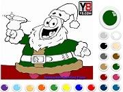Играть Spongebob Patrick Christmas Coloring
