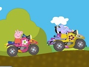 Играть Peppa Pig Racing Battle