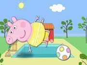 Peppa Pig kick up