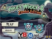Игра Piggy Wiggy 4: Zombie Edition