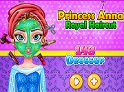 Игра Princess Anna Royal Haircut