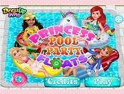Princess Pool Party Floats