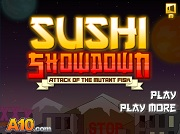 Игра Sushi Showdown Attack of the Mutant Fish