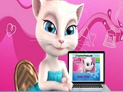 Talking Angela. Jigsaw puzzle