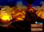 Игра Train Steam Western