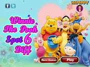 Игра Winnie the Pooh - Spot 6 Diff