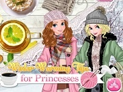 Игра Winter warming tips for princesses