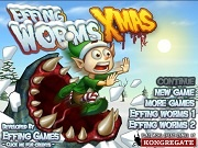 Игра Effing Worms: Xmas