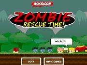 Игра Zombie Rescue Time