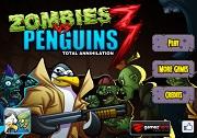 Игра Zombies vs Penguins 3