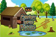 Игра Knf Cowboy Horse Rescue