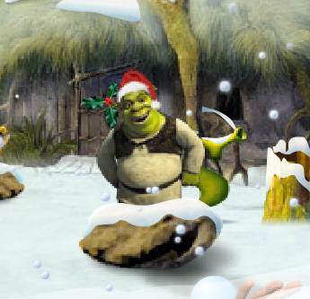 Shrek's Snowball Chucker