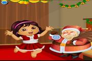 Dora And Santa