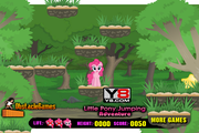 Игра Little Pony Jumping Adventure