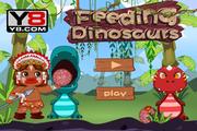 Играть Feeding Dinosaurs