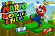 Super Mario Pop The Enemy