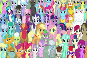 Me Little Pony-Find Objects