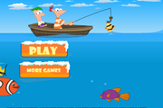 Игра Phineas and Ferb Fishing
