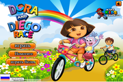 Игра Dora and Diego Race
