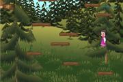 Маша и Медведь: Прыжки по бревнам