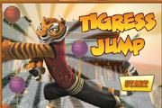 Kung Fu Panda: World Tigress Jump