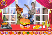 Zootropolis: Burger Cooking