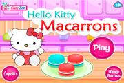 Игра Hello Kitty Macarrons