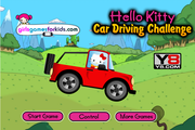 Hello Kitty Car Driving
