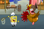Игра Spongebob Quirky Turkey