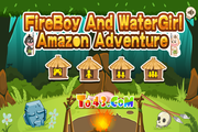 Играть Fireboy and WaterGirl Amazon Adventure