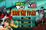 Ben 10 - save the town