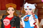 Игра Princess Russian Hooligans