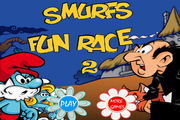 Smurfs: Fun race 2