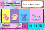 Игра My little pony: colours memory