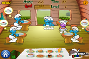Smurf Dinner