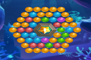 Игра Sea Bubble Shooter