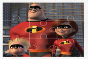Игра The Incredibles 2 Jigsaw