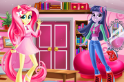 Игра Equestria Girls First Day at School