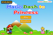 Dash Mario to Princess