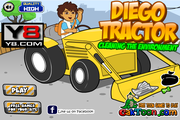 Diego Tractor Cleaning The Environment