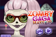 Zomby Gaga Make up