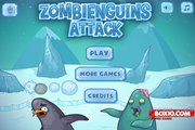 Игра Zombieguins Attack