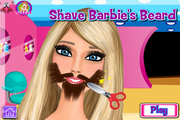 Shave Barbie's Beard