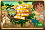 Diego's African off road rescue