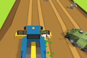 Играть Zombie Harvester Rush