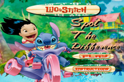 Lilo and Stitch-Spot the Difference